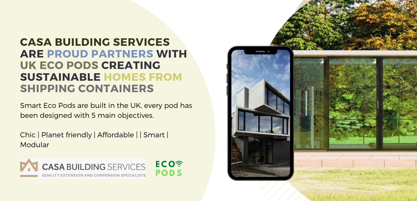 UK Eco pods. Casa building services