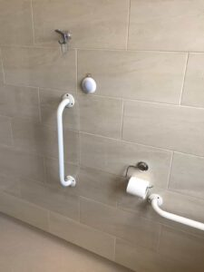 wet room for disabled