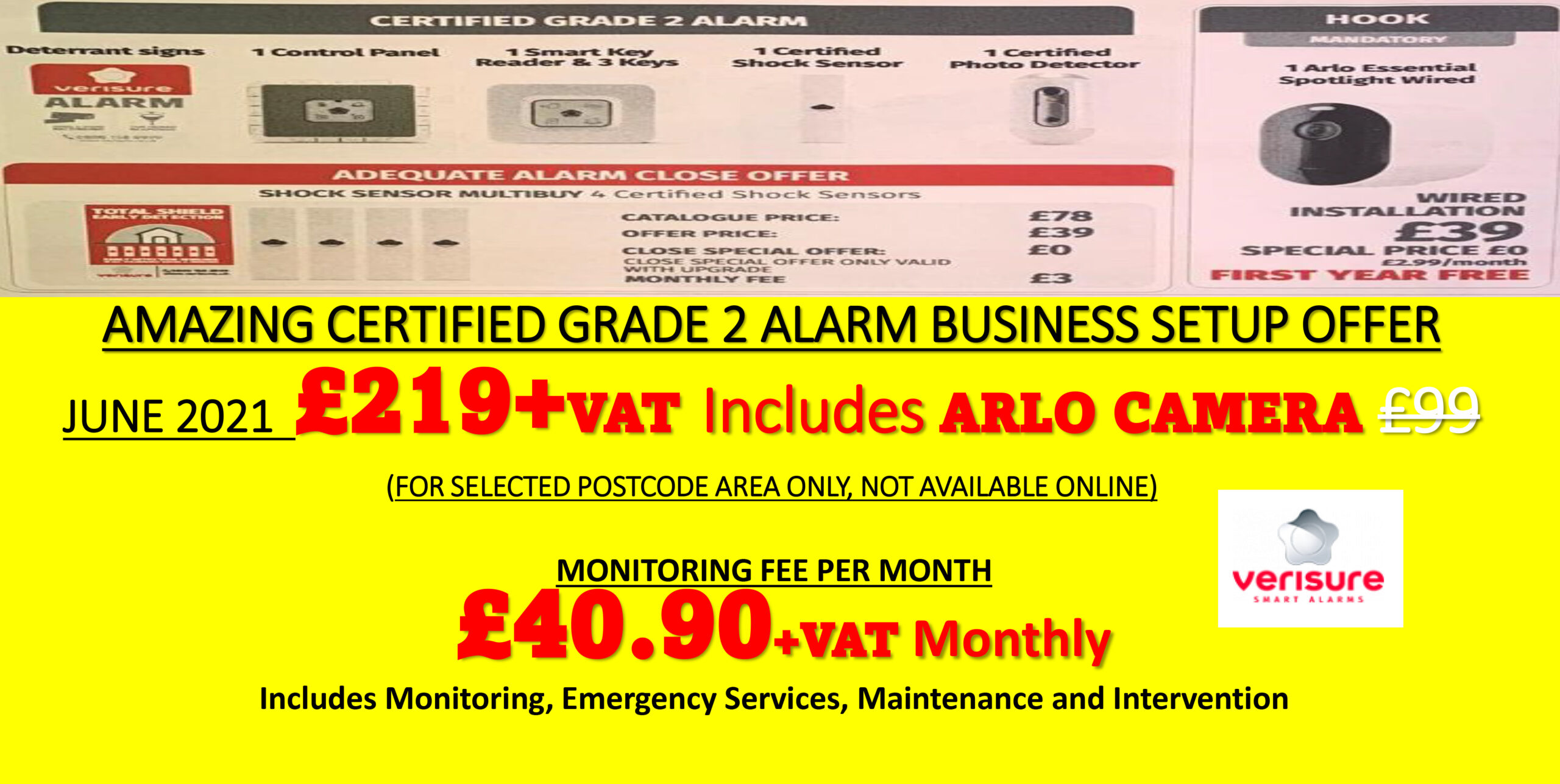 AMAZING OFFER FEBURARY 2021 WITH FREE DOORBELL ALARM DISCOUNT FR