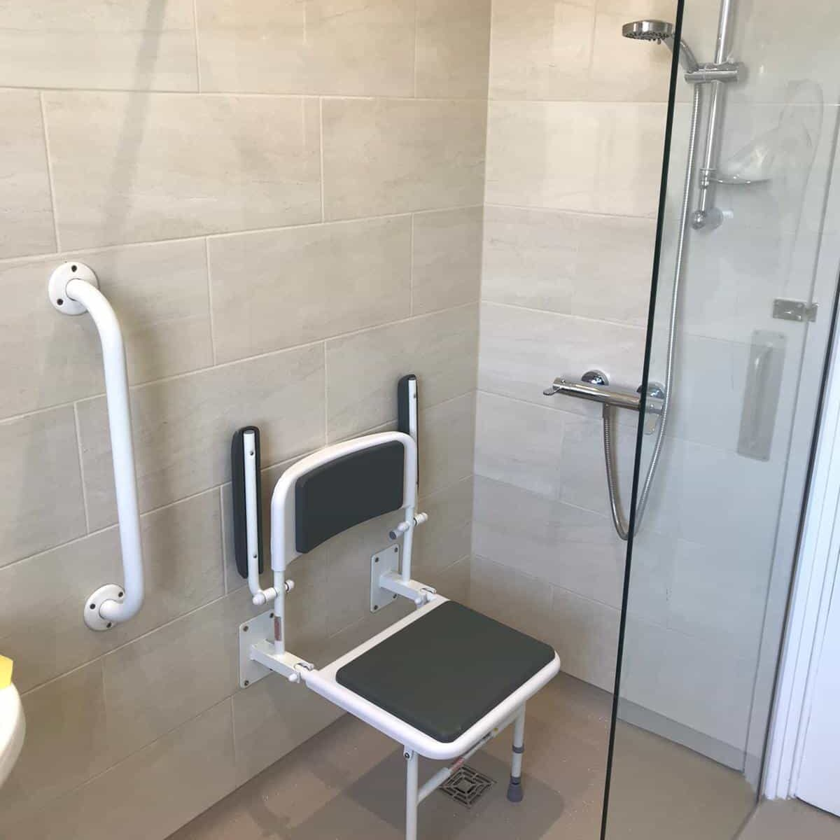 disabled wet room installations
